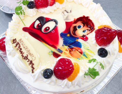 【熱海】ケーキで人気のゲームキャラクターをデザイン!